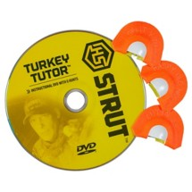 H.S. Strut Turkey Tutor Call Set with DVD