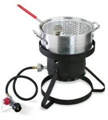 Cajun Injector Propane Fryer With Accessories