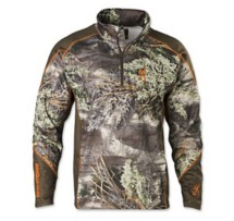 Men's Browning Hell's Canyon Midweight Base Layer 1/4 Zip