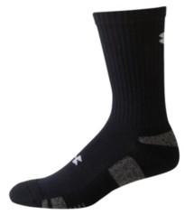 Under Armour HeatGear 3 Pack Crew Socks