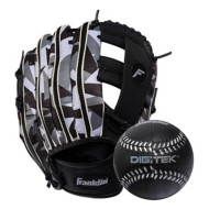 "Franklin Sports Teeball Recreational Series Fielding 9.5"" Baseball Glove with Baseball - Right Hand Throw"