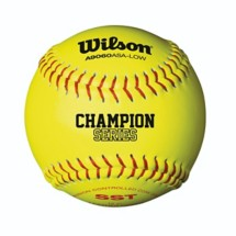 Wilson Champion Series ASA low Softball