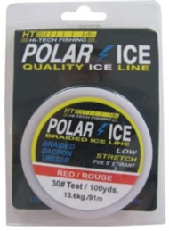 HT Enterprises Polar Ice Dacron Tip Up Line