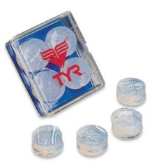 Adult TYR Soft Silicone Earplugs