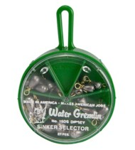 Water Gremlin Dipsey Sinker Selector