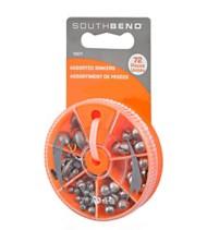 South Bend Sinker and Split Shot Assortment Pack