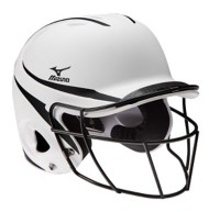 Mizuno MBH252 MVP Batter's Helmet with Mask