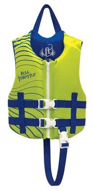 Full Throttle Children's Rapid-Dry Vest