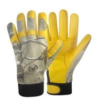 Hot Shot Deer Skin Mechanics Gloves