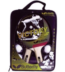 Butterfly Victory Two Player Racket Set