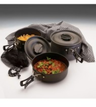 Texsport Scouter Hard Anodized Cook Set
