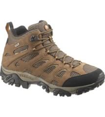 Men's Merrell Moab Mid Wide Waterproof Boots