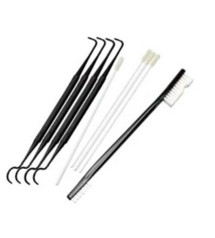 Cleaning Swabs Picks And Double End Brush Combination Pack