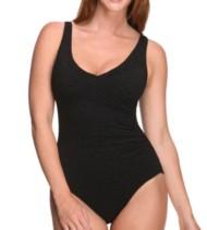 Women's Penbrooke Krinkle Mock Swimsuit