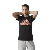 Women's adidas Badge of Sport Short Sleeve Shirt
