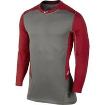 Men's Nike Pro Combat Hyperwarm Lite Fitted Long Sleeve Shirt