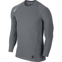 Men's Nike Pro Warm Fitted Crew Long Sleeve Shirt
