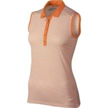 Women's Nike Dry Stripe Sleeveless Golf Polo