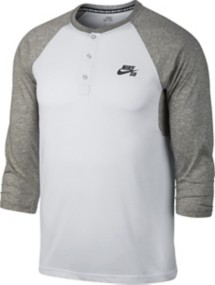 Men's Nike SD 3/4 Sleeve Henley