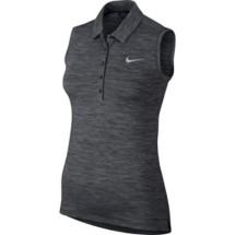 Women's Nike Precision Heather Sleeveless Polo