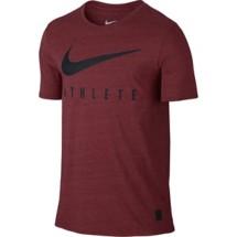 Men's Nike Dri-Blend Mesh Swoosh Athlete Training T-Shirt