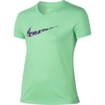 Youth Girls' Nike Dry Swoosh Training T-Shirt