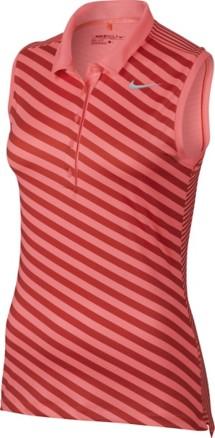 Women's Nike Precision Print Sleeveless Golf Polo