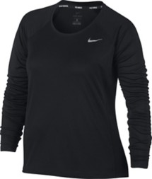 Women's Nike Dry Miler Running Long Sleeve Top - Extended Sizes