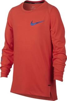 Youth Boys' Nike Dry Basketball Long Sleeve Top