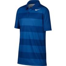 Youth Boys' Nike Dry Bold Stripe Golf Polo