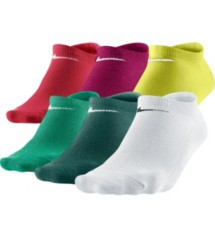 Women's Nike Lightweight No-Show 6 Pack Socks