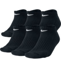 Adult Nike Band Cotton No Show 6 Pk Socks