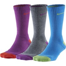 Women's Nike Dri-FIT Cushion Crew Socks 3-Pack