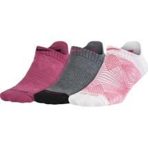 Women's Nike Dri-FIT Graphic No-Show Tab Socks 3 Pack