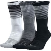 Adult Nike Dry Cushion Graphic Crew Training Socks - 3 Pack