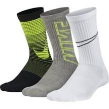 Youth Boys' Nike Performance Cushion Crew Socks - 3 Pack