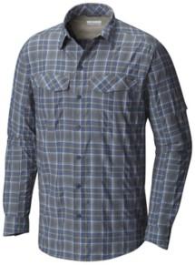 Men's Columbia Silver Ridge Plaid Long Sleeve Shirt