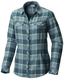 Women's Columbia Simply Put II Flannel Long Sleeve Shirt