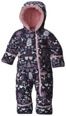 Infant Columbia Frosty Freeze Bunting
