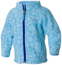 Infant Girls' Columbia Benton Springs II Printed Fleece Jacket
