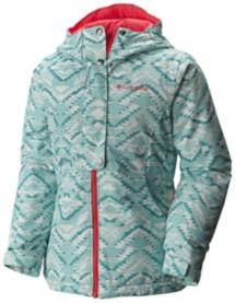 Youth Girls' Columbia Snowcation Nation Jacket