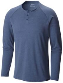 Men's Columbia Trail Shaker Long Sleeve Henley Shirt