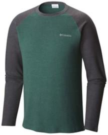Men's Columbia Ketring Raglan Waffle Long Sleeve Shirt
