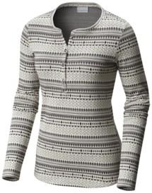 Women's Columbia Hood Mountain Lodge Jacquard Long Sleeve Shirt