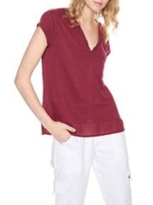 Women's Sanctuary City Mix Short Sleeve Shirt