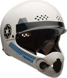 Youth Star Wars Storm Trooper Multisport Chinbar Helmet