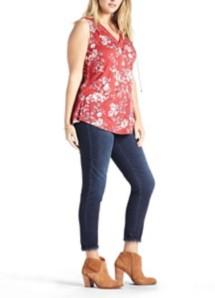 Women's Lucky Brand Plus Size Wildflower Lace Tank