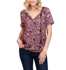 Women's Lucky Brand Roadmap Printed Shirt