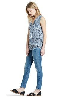 Women's Lucky Brand Printed Paisley Tank