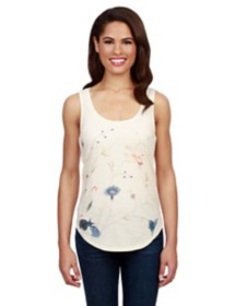 Women's Lucky Brand Floral Embroidered Tank